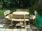 New 8 seater garden table in 2014